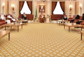 تكريم سمو الأمير مشعل بن ماجد رؤساء مراكز الأحياء
