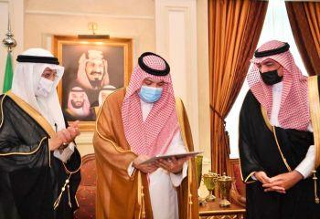 الأمير مشعل بن ماجد يلتقي ويكرم رؤساء مراكز ال