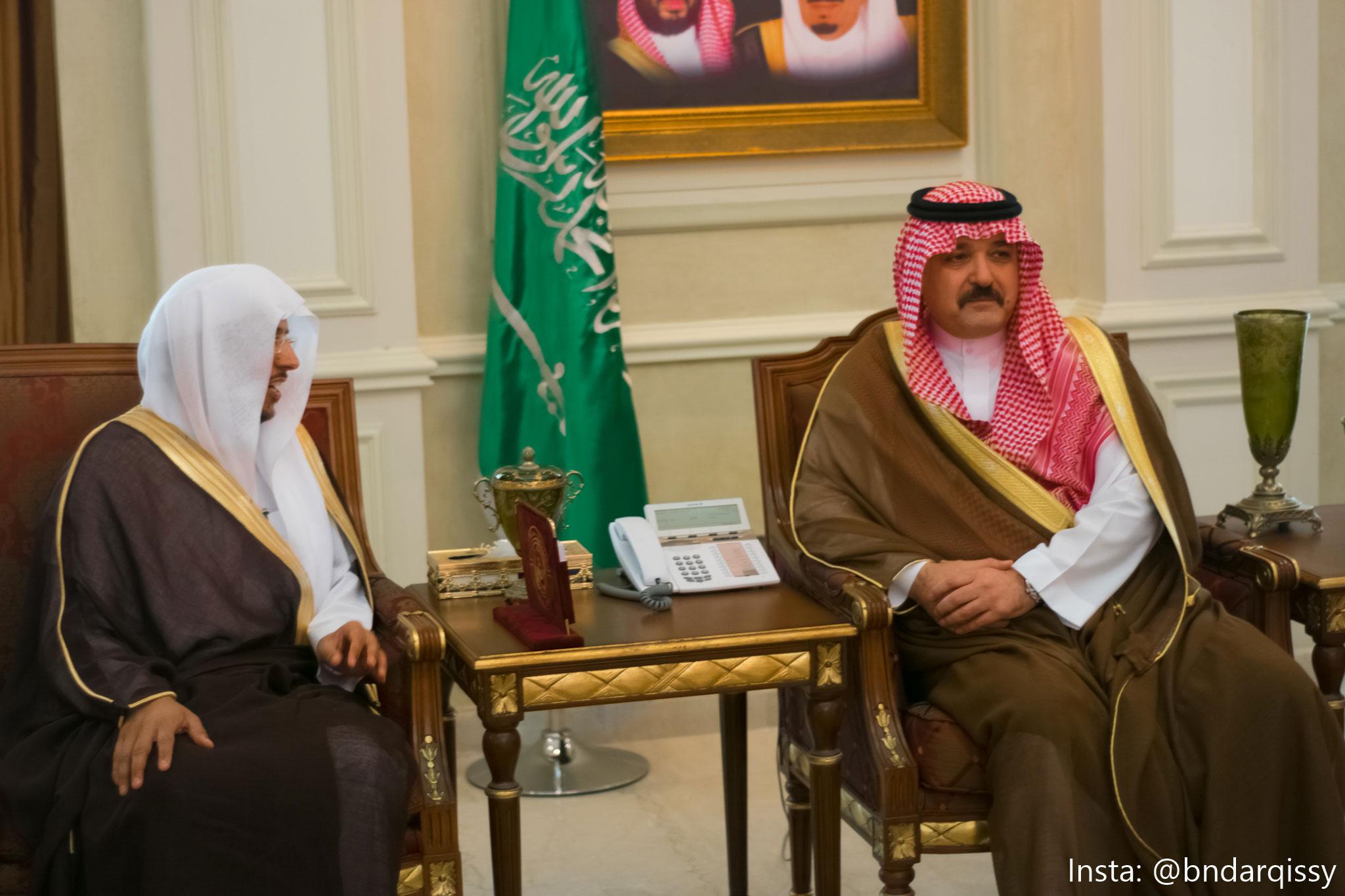 الأمير مشعل بن ماجد يشهد توقيع اتفاقيتين لجمعية مر